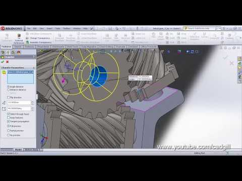 Video Tutorial on Modeling & Simulating Torsen Differential in SolidWorks Part 03