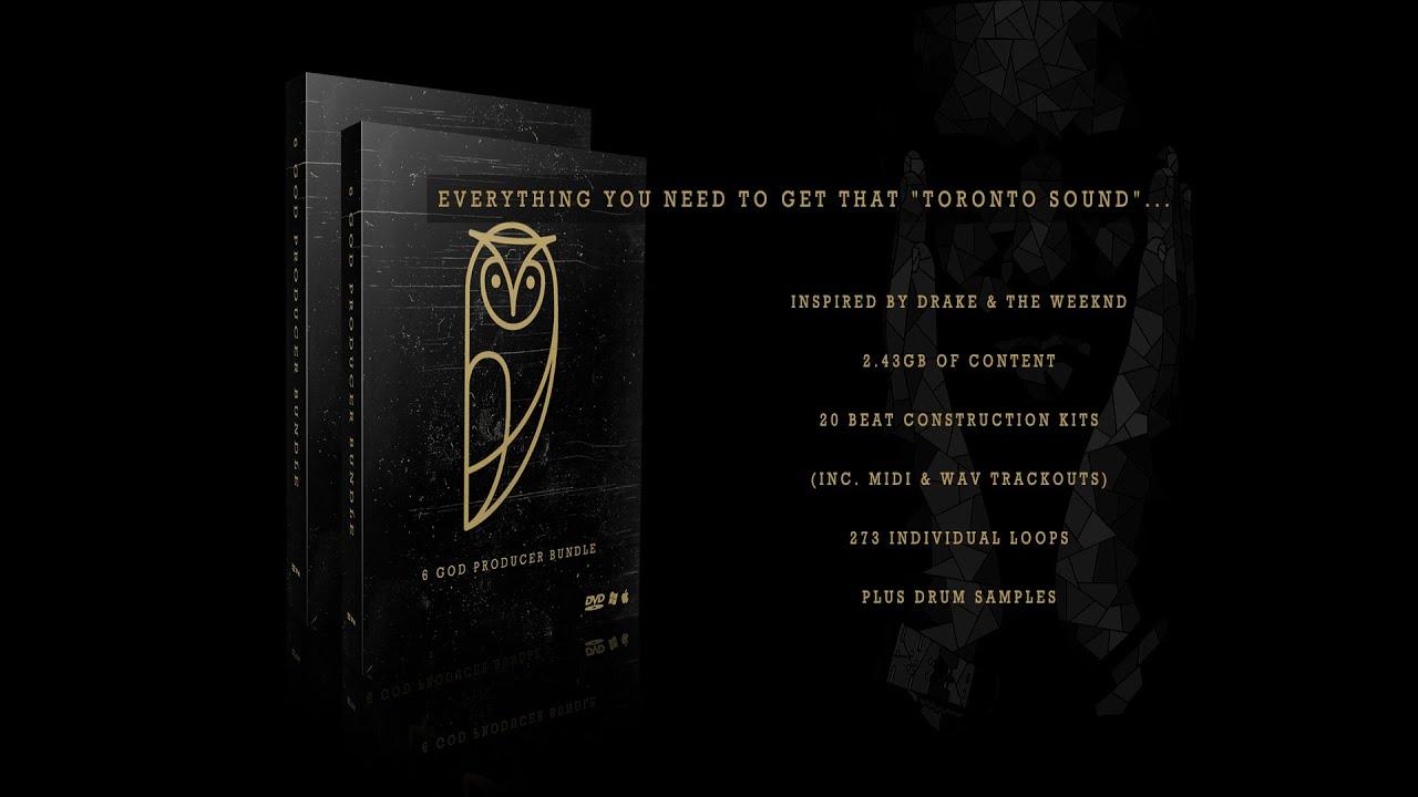 6 Producer Bundle In The Style Of Drake Noah 40 Shebib Sample Pack Drum Kit