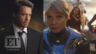 Robert Downey Jr.'s 'iron Man' Screen Test Female Avengers Unite