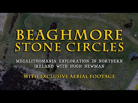 Beaghmore Stone Circles, Northern Ireland - Megalithomania Exploration with Aerial Footage