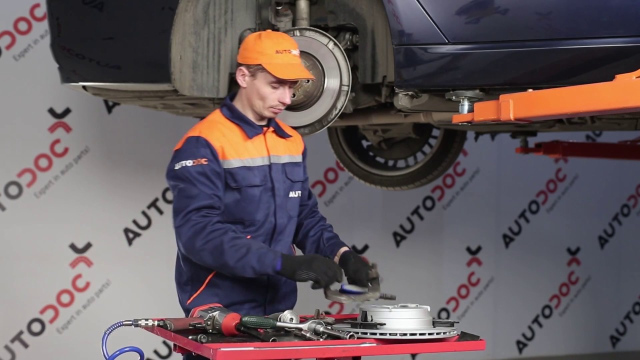 How To Replace Rear Brake Discs And Rear Brake Pads On Bmw