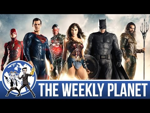 SDCC JUSTICE LEAGUE, WONDER WOMAN, Marvel...Stuff - The Weekly Planet Podcast