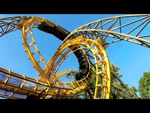 Loch Ness Monster off-ride HD Busch Gardens Williamsburg