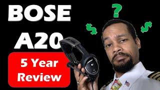 Aero Nerd's Bose A20: 5 Year Review