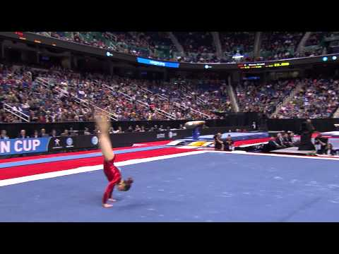 Victoria Moors - Floor Exercise - 2014 AT&T American Cup
