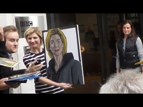 Doctor Who Jodie Whittaker in London 12 08 2017 (2)