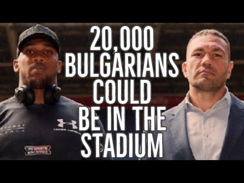 ANTHONY JOSHUA v KUBRAT PULEV - 20,000 BULGARIANS COULD BE IN THE STADIUM