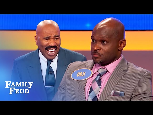 Gotta have this to look good bald! | Family Feud