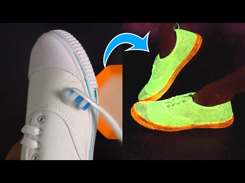 Thumbnail: How to Make Glowing Shoes at Home