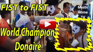 Mystic Mime Fist to Fist w/ World Champion Donaire at Greenbelt 5 Makati, Manila Philippines Thumbnail