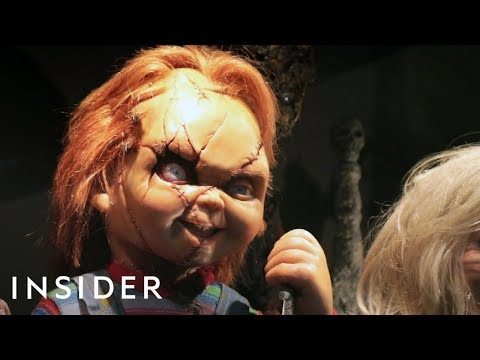 Special Effects Artist Makes Terrifying Props For Scary Movies