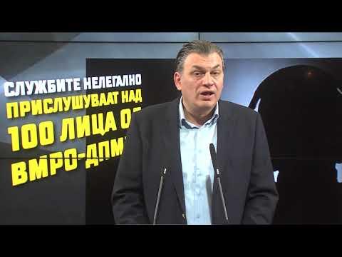 Службите нелегално прислушуваат над 100 лица од ВМРО-ДПМНЕ