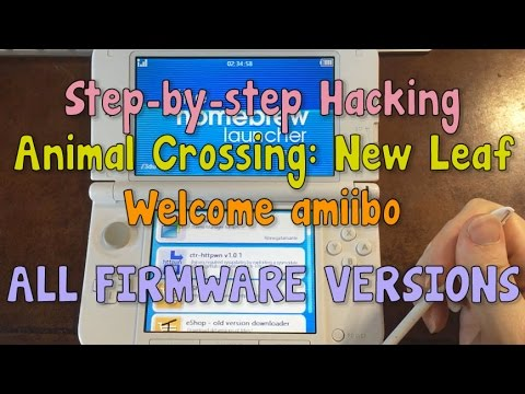 How to Hack AC:NL to Edit Your Town 2017 - DS VERSIONS UP TO
