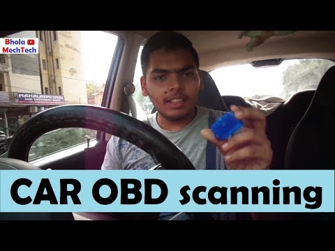 OBD scanner how to use || App download