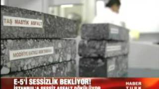 isfalt sessiz asfalt HABER TURK