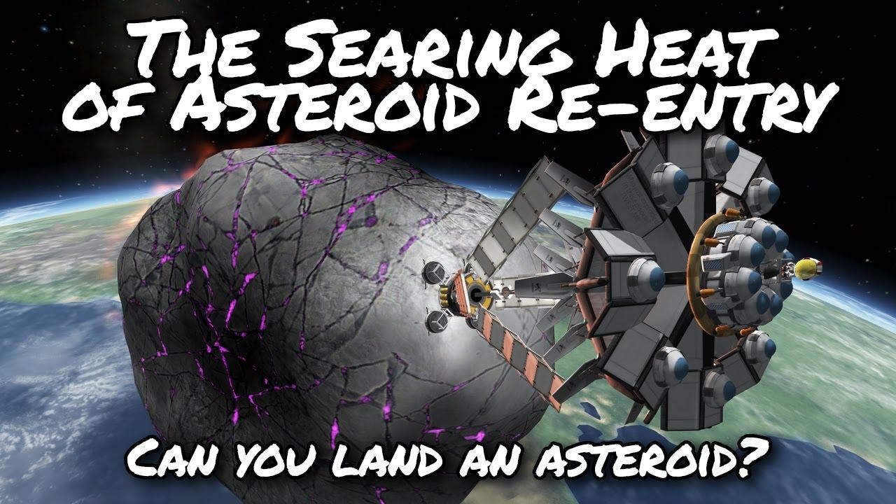 KSP Asteroid Landing Day (Tutorial:41) Kerbal Space Program 1 2 - Stock  Parts