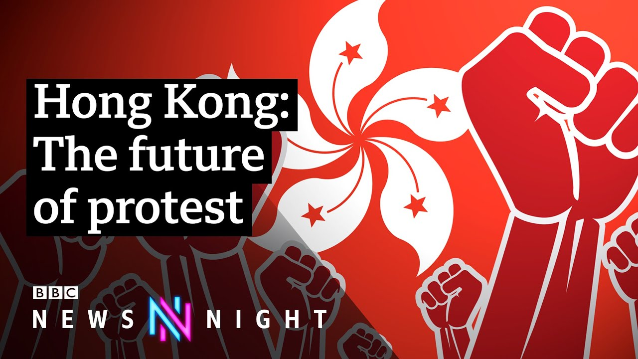 Download Hong Kong protests: How technology is changing the game - BBC Newsnight