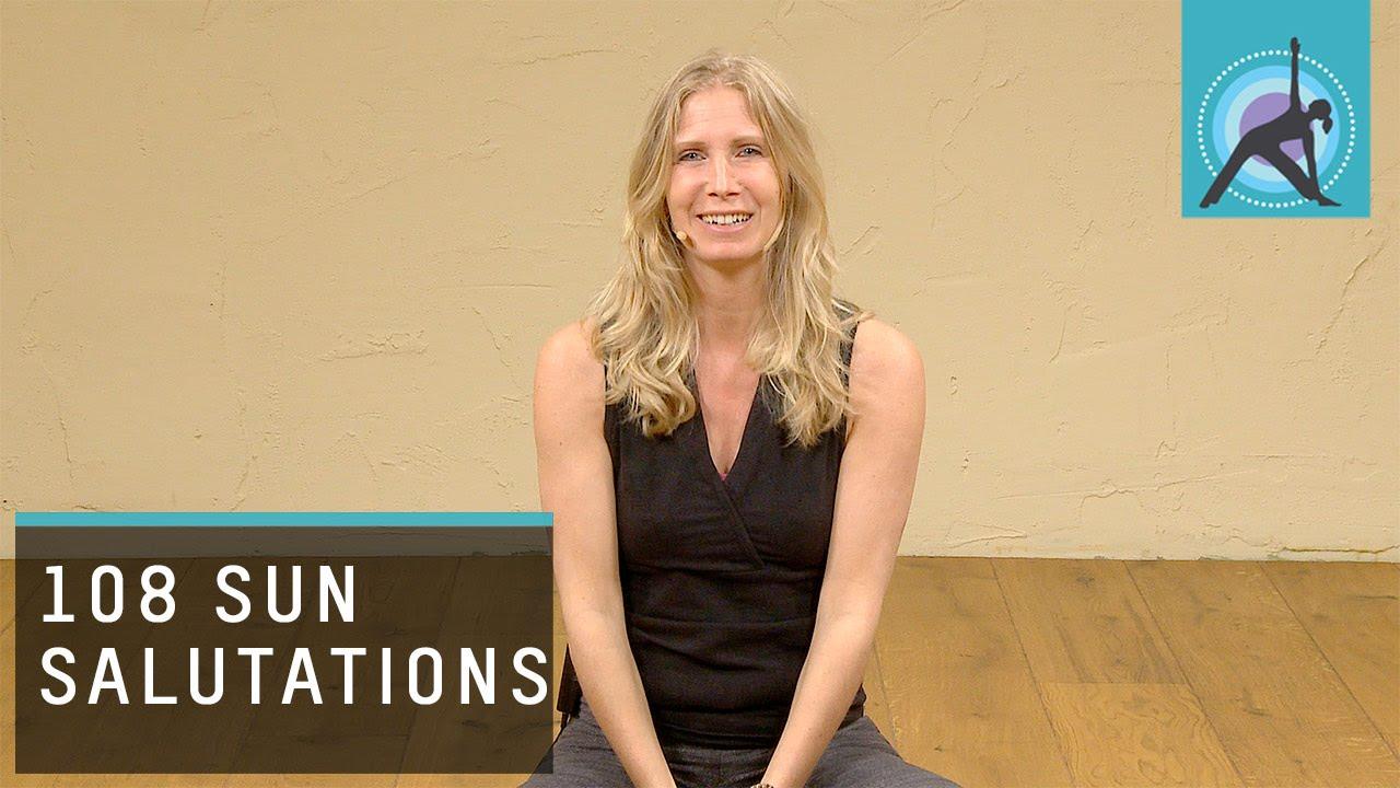 how to teach 108 sun salutations