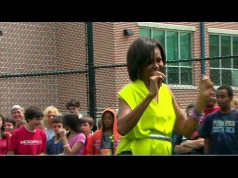 First lady, Doug E. Fresh drop rap video