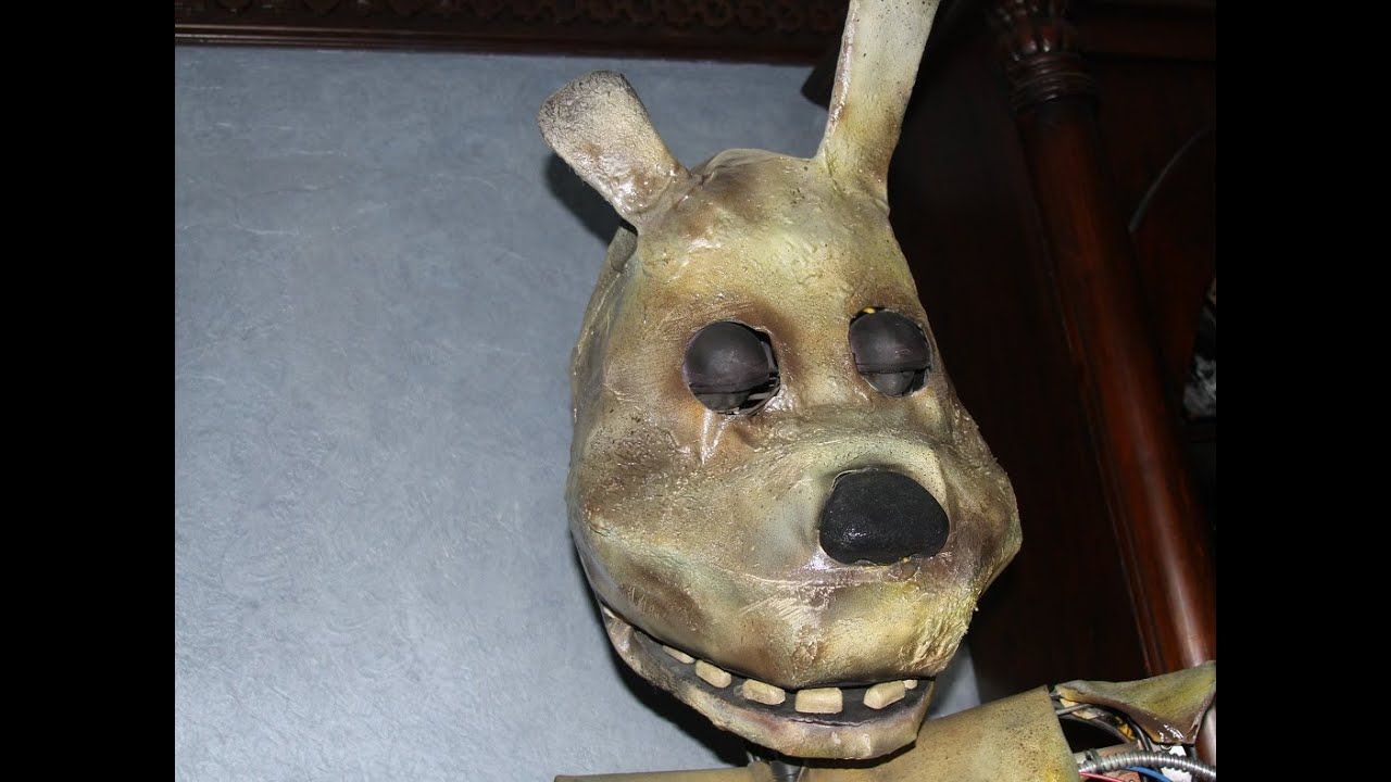 real life springtrap youtube