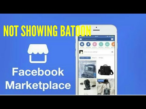 How to make marketplace a tab on facebook