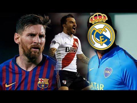 REAL MADRID quiere un JUGADOR de BOCA | SCOCCO DESCARTADO de la FINAL | OFICIAL: MESSI al BERNABEU