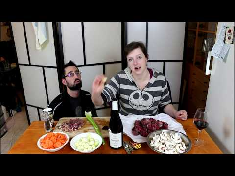 A bit of French Cuisine! Beef Bourguignon! (Vlog)