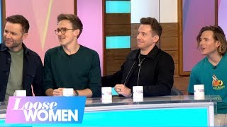 McFly Open Up About Going to Group Therapy to Resolve Problems in the Band | Loose Women