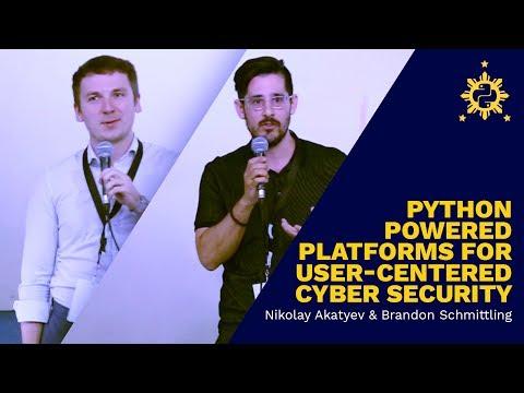 PyCon PH 2017 - Python Platforms for Cyber Security by Nikolay Akatyev and Brandon Schmittling
