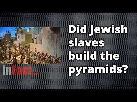 Did Jewish Slaves Build The Pyramids?