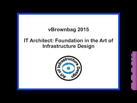 #vBrownBag Follow Up - The Art of IT Infrastructure Design