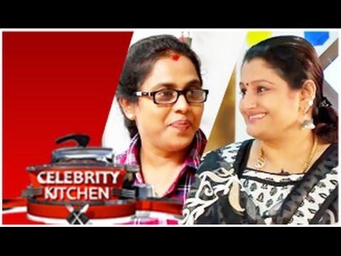 Actresses Sharmila & Viji ChandraSekar in Celebrity Kitchen (01/03/2015)