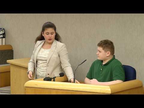 Seminole Middle School mock trial 2017