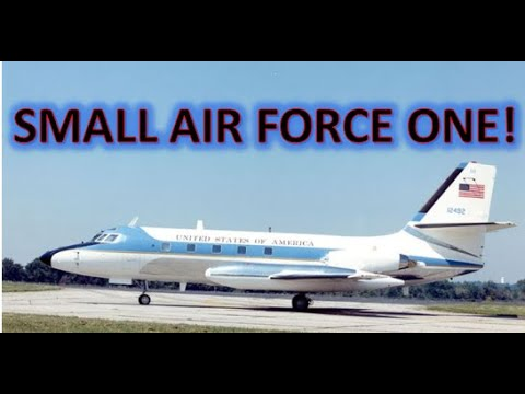 Lockheed JetStar Presidential Jet