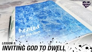 Learn A Watercolor Texture Technique - Heaven Is Calling Lesson 5