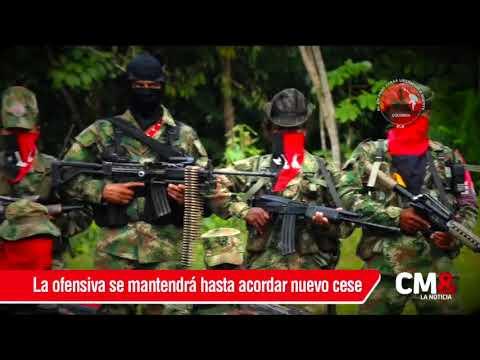 Habrá operaciones de FFMM contra el ELN mientras no haya una negociación del cese al fuego