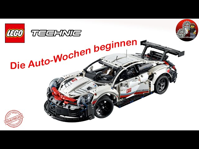Die Technic Autowochen beginnen | Lego® 42096 Review Lego® Technic 42096 Porsche 911 RSR