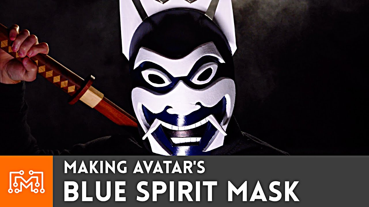 Making the Blue Spirit Mask from Avatar: The Last Airbender