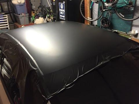 2012 VW Jetta Roof Wrap Install in 3M Matte Black Vinyl w/ Gawriluk Wraps