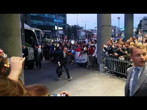 Real Madrid CF arrives to Tallinn thumbnail