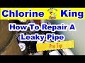 How To: Step By Step For Replacing a Broken Swimming Pool Pipe - Chlorine King Pool Service