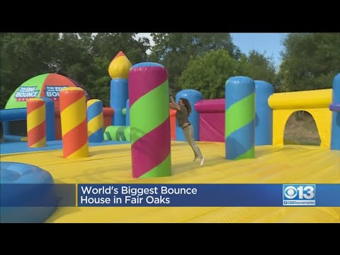 G BiZ - Grab Your Kids! World Biggest Bounce House is coming to the Bay Area!