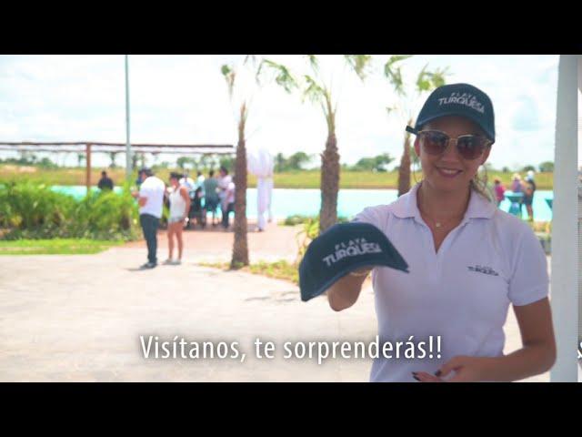 Presentación de Playa Turquesa a clientes