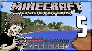 Minecraft PS Vita - EXPLORING AROUND - Part 5 (PS Vita Minecraft Gameplay)