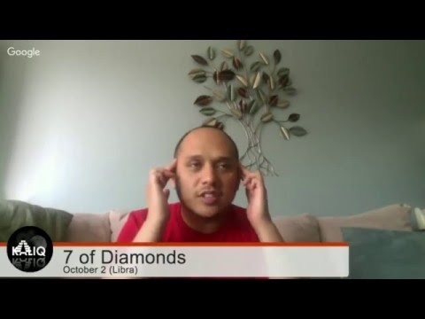 Destiny Cards - October 2 - 7 of Diamonds