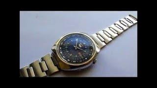 Seiko 5 automático 17 jewels. Seiko automatic movement Day and Date watch.