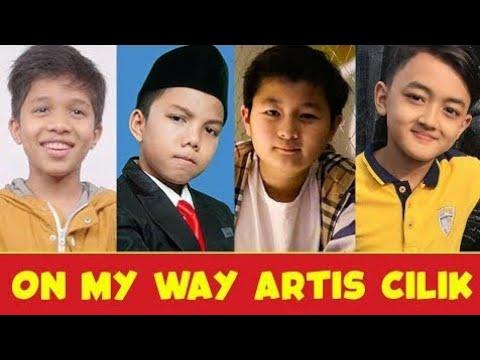 Parody On My Way Versi Artis Cilik Terganteng Indonesia Youtube