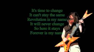 Pantera-Revolution is my name lyrics