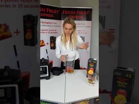 Fresh Fruit Express Bereiding Smoothie Basis Blender Nederlands