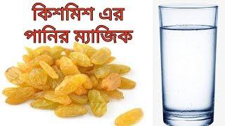 মাত্র ২ দিন খালি পেটে কিশমিশ এর পানি পান করুন,  তারপর দেখুন ম্যাজিক  ।। Health Bangla